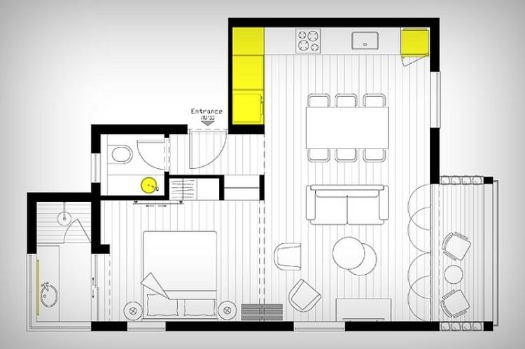 Amnagement petit appartement lide propose vous tente