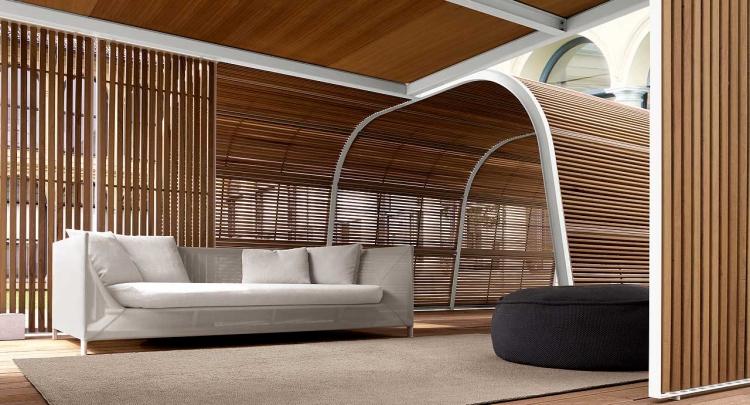 Cabane de jardin de design italien de luxe par Paola Lenti