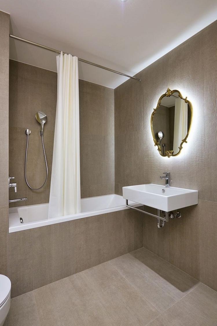 Lclairage salle de bains LED  conseils et ides lgantes