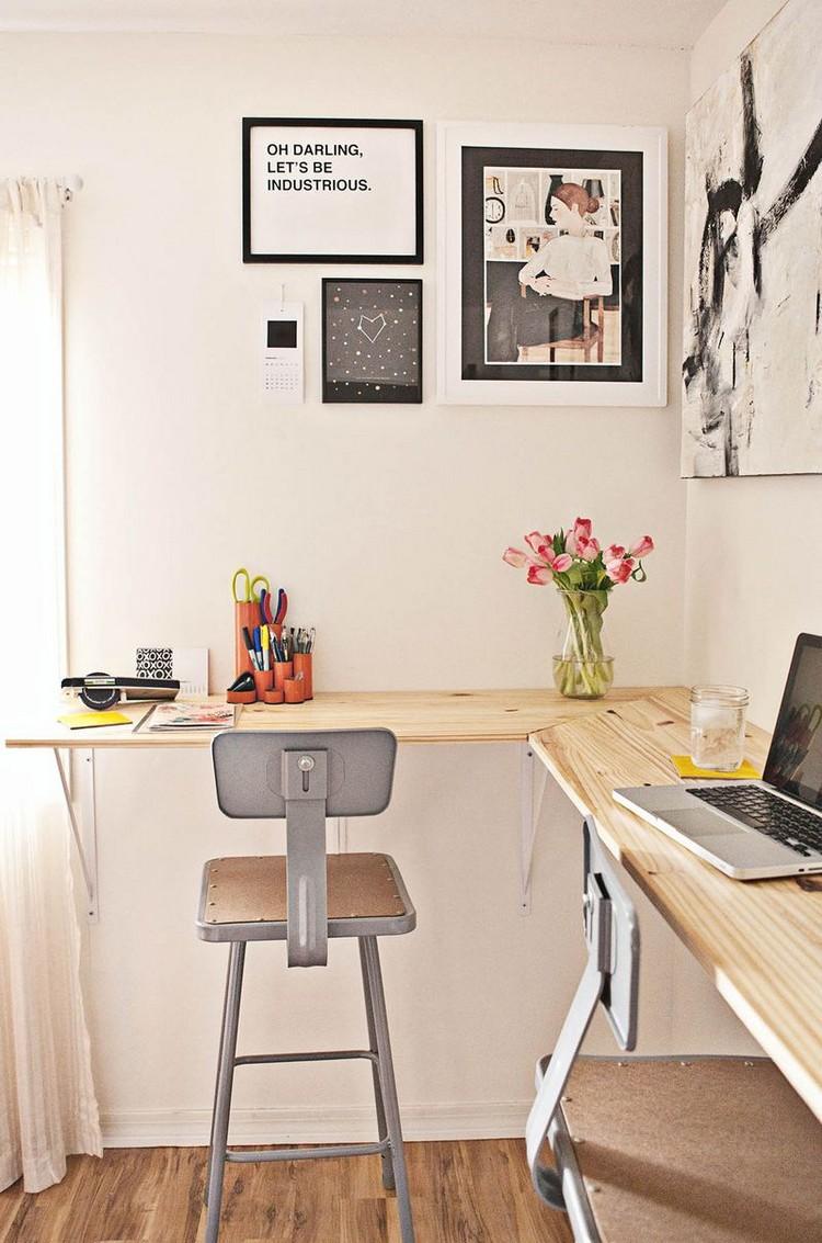 fabriquer un bureau soi meme 22 idees inspirantes