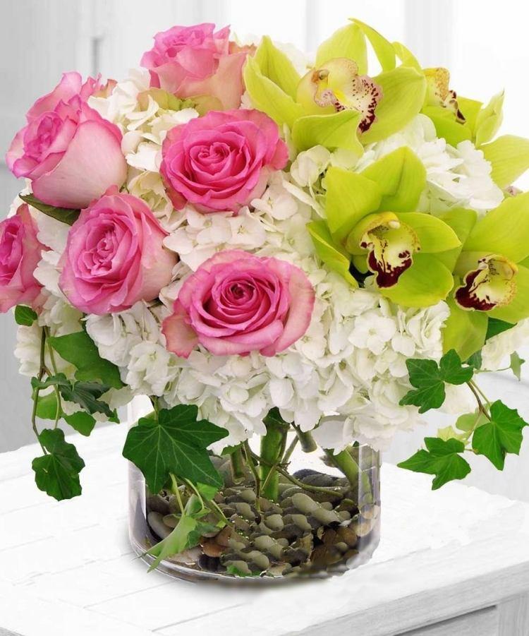 Ides dco de printemps bouquets de fleurs vases 30 photos