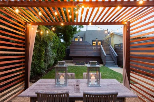 25 Covered Porch Layout Contemporary Landscape Pictures And Ideas