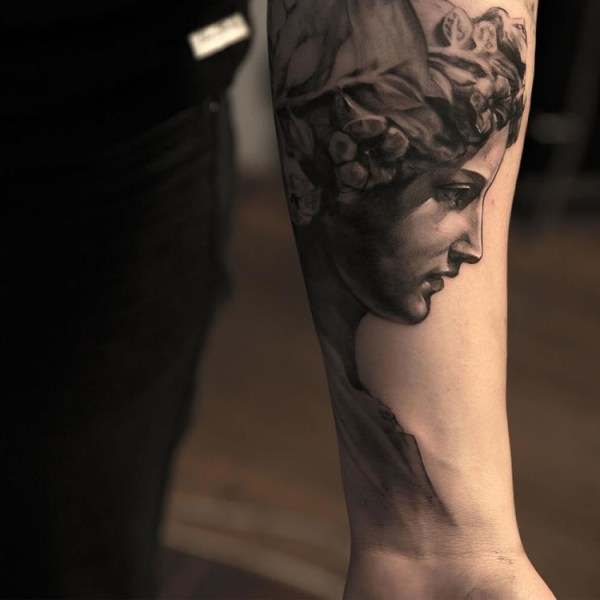 20 Ancient Statue Tattoos Ideas And Designs