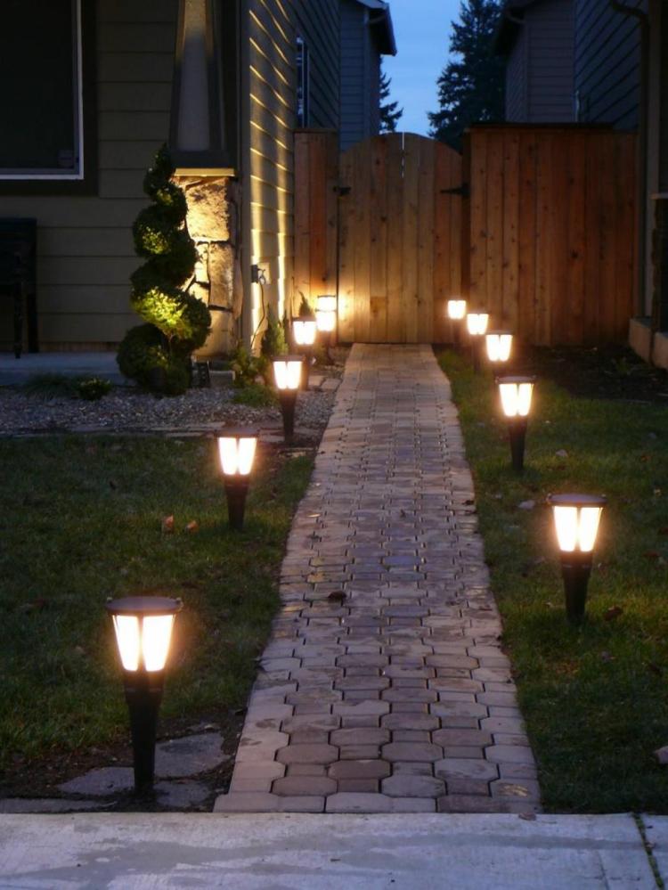 clairage extrieur  LED en 50 ides de luminaire de jardin