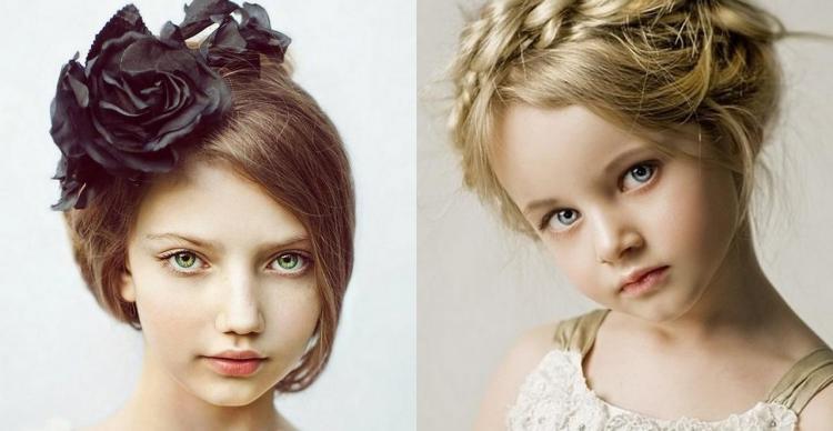 Coiffure fille ides cheveux longs et milongs en 28 photos