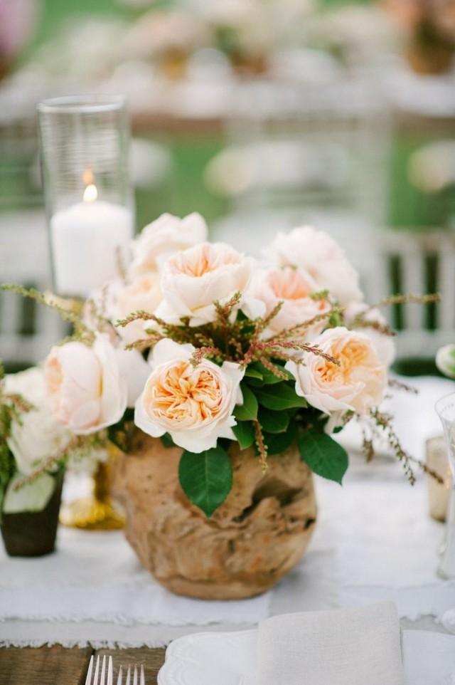 Dcoration de mariage pour la table en 80 ides originales