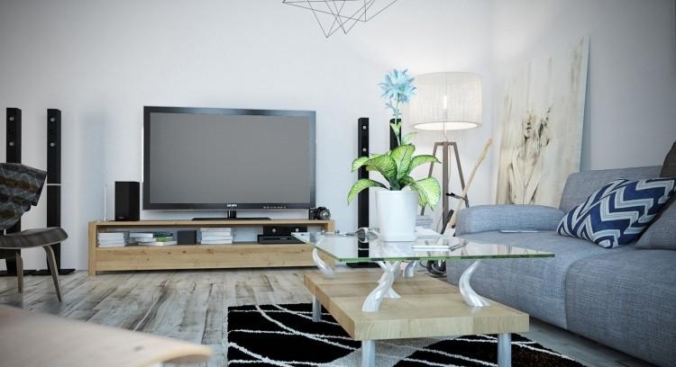 deco salon moderne et chic invitez la couleur grise dans. Black Bedroom Furniture Sets. Home Design Ideas