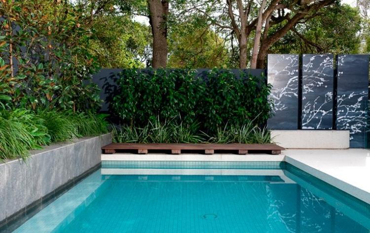 jardin avec piscine 24 photos designs