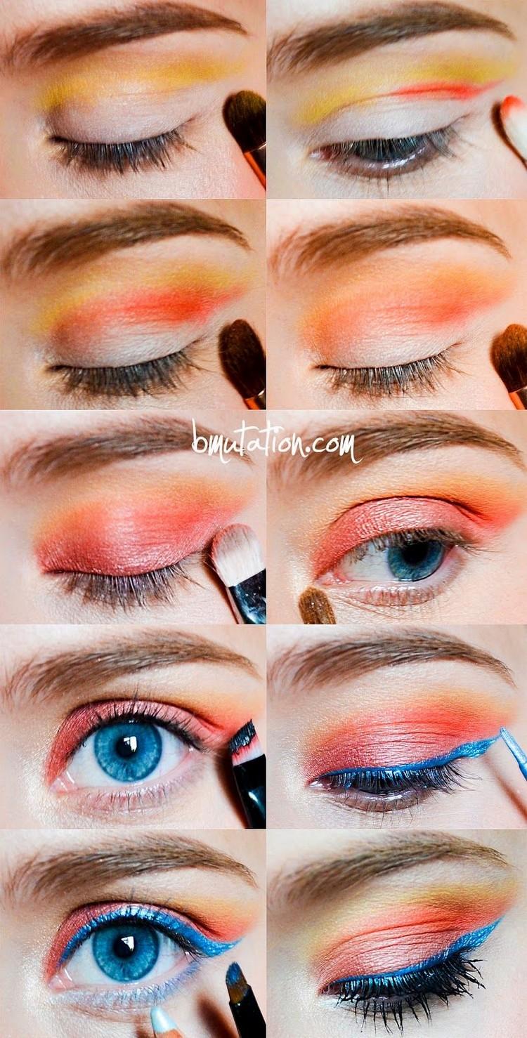 Maquillage des yeux  12 tips pour un maquillage russi