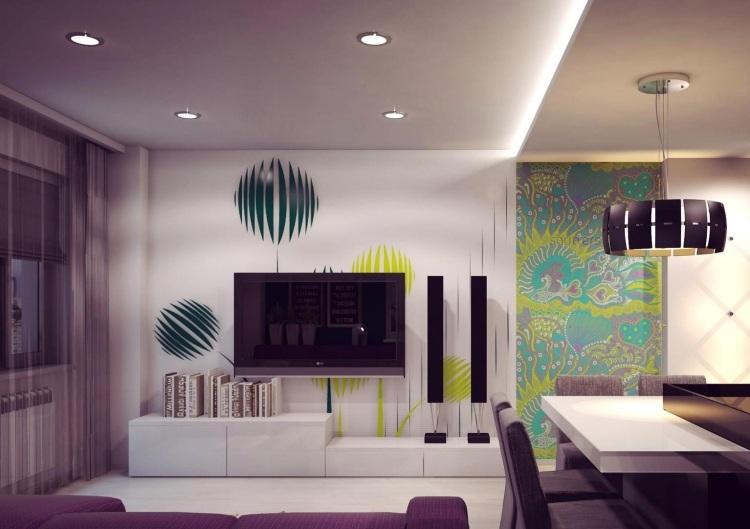 palette de couleur salon moderne