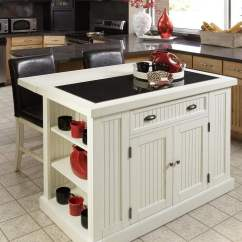 Rolling Kitchen Island With Seating Yellow Pine Cabinets Petite Cuisine Avec îlot Central? Oui, Voilà 28 Exemples!