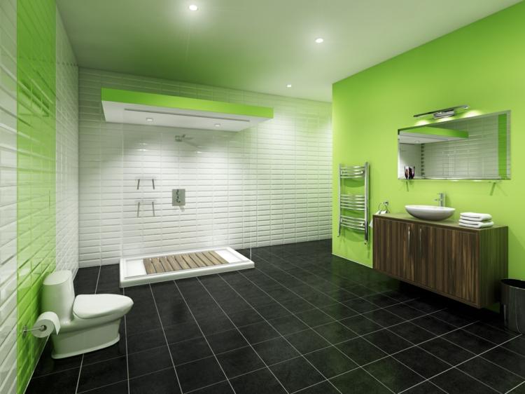 Design interieur salle de bain couleur salle bain - Quel couleur pour une salle de bain ...
