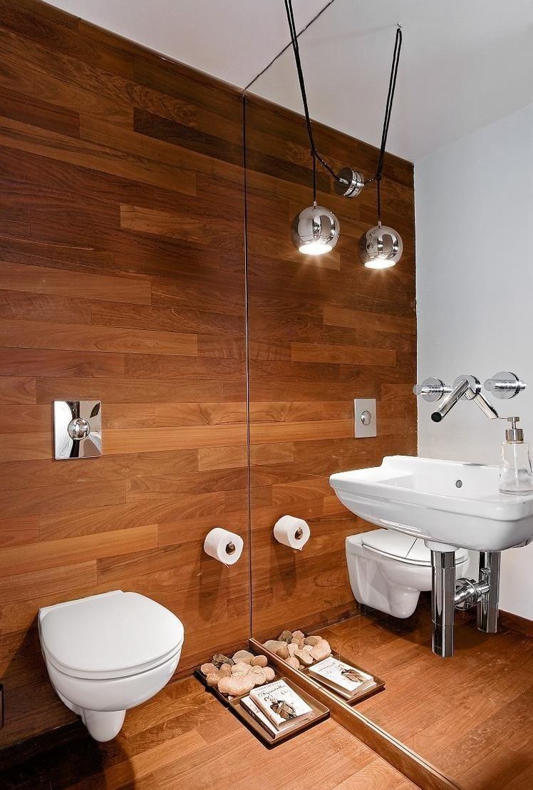 Carrelage salle de bain imitation bois  32 ides modernes