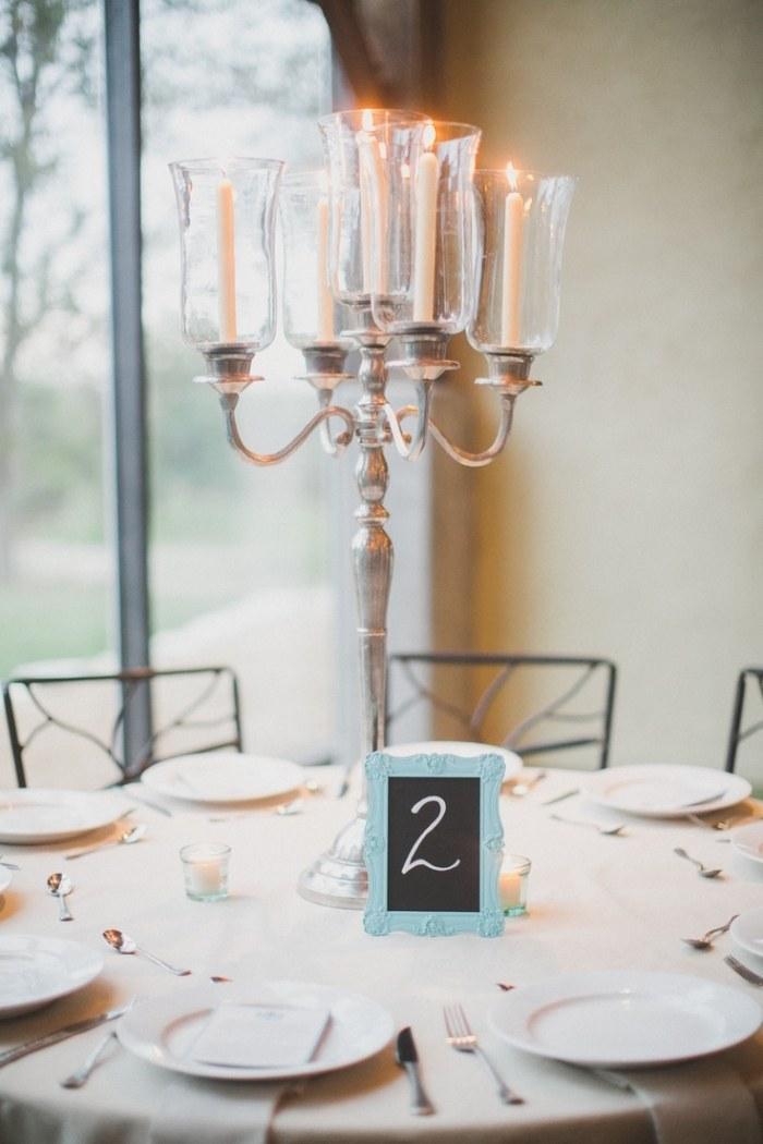 Dcoration de table mariage en 28 ides pour la table ronde