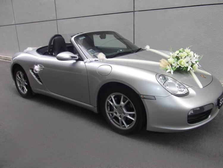 Dcoration voiture mariage  55 ides de dco romantique