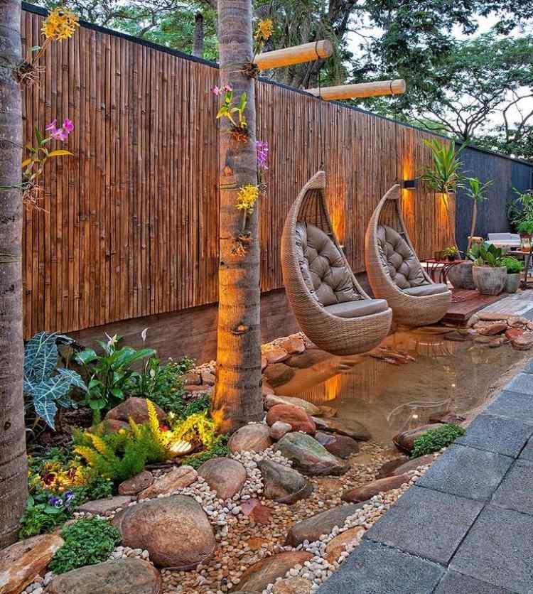 fauteuil suspendu jardin 34 idees d
