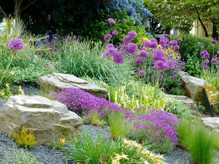 gravier decoratif pour le jardin avec