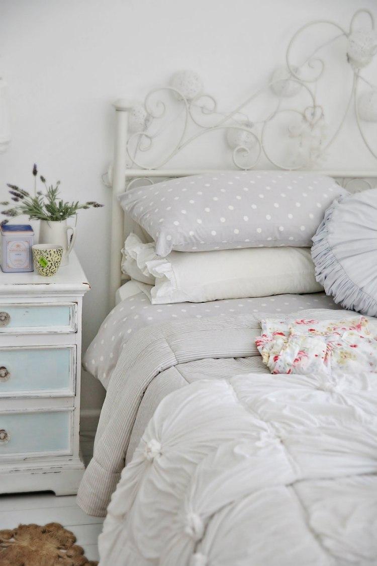 Chambre blanche en 65 super ides de meubles et dcoration