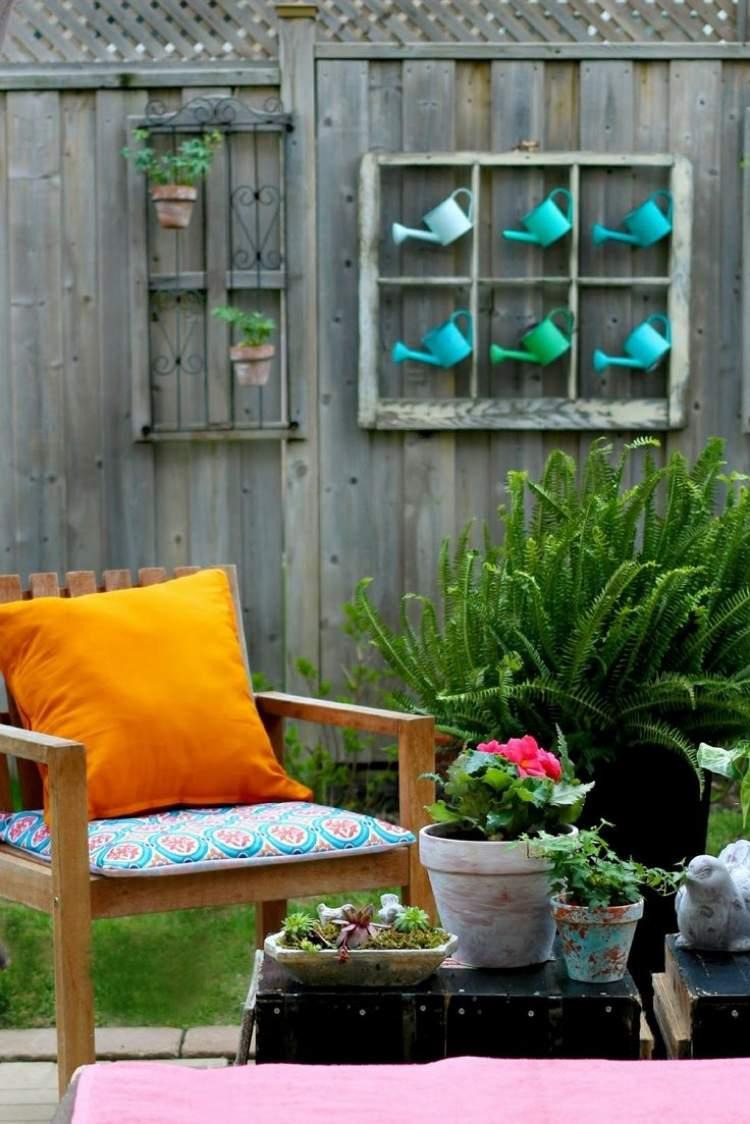 Dco jardin DIY ides originales et faciles avec objet de rcup