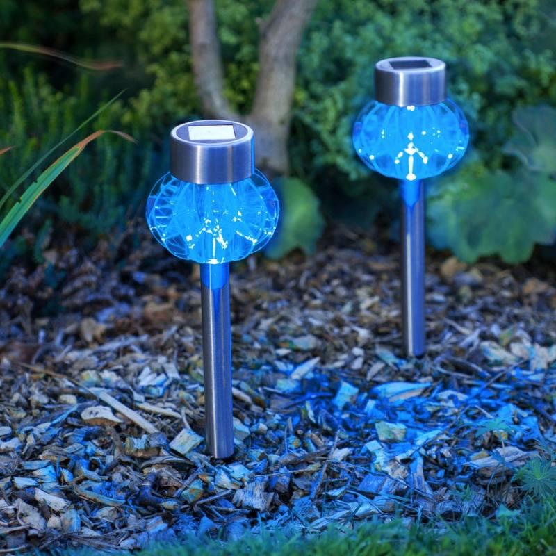 clairage extrieur LED solaire et dcoratif comme accent