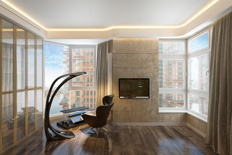 Intrieur Design Salon Chambre Coucher Et Salle De Bains