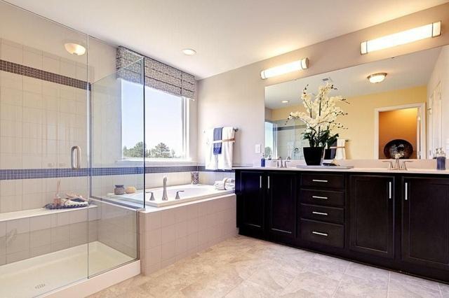 meuble salle de bains bois carrelage