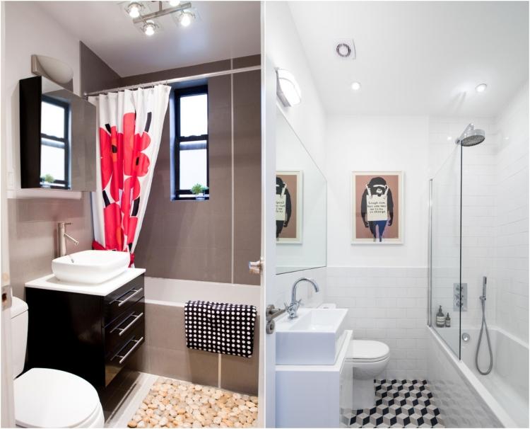 Comment agrandir la petite salle de bains  25 exemples