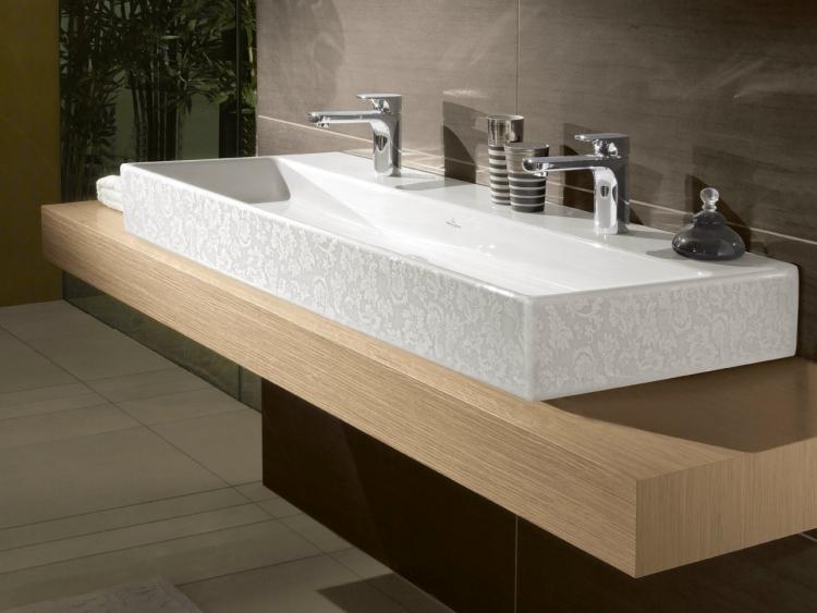 S Design Interieur Salle De Bain Meuble Double Vasque Moderne