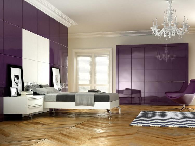 Deco Chambre Aubergine Et Blanche - Décoration de maison idées de ...