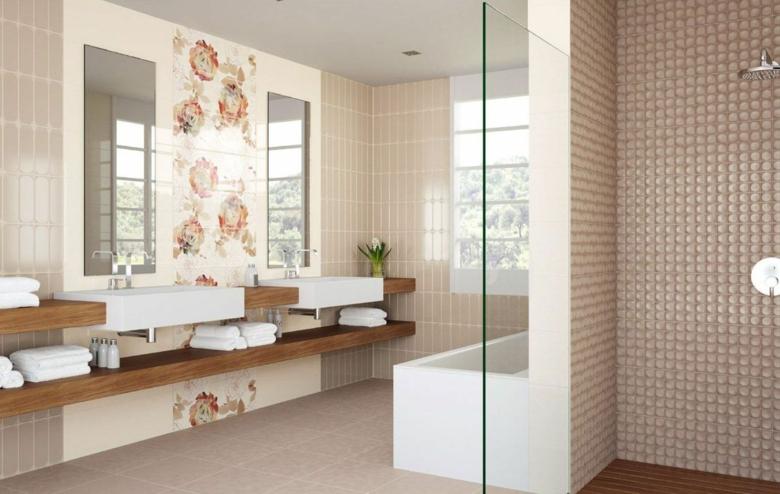 Carrelage moderne  salle de bains cuisine et espace de vie