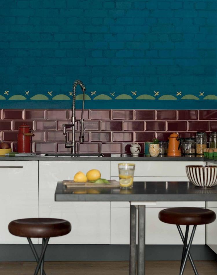 faience cuisine design