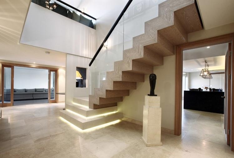Clairage Escalier Led 30 Ides Modernes Et Originales