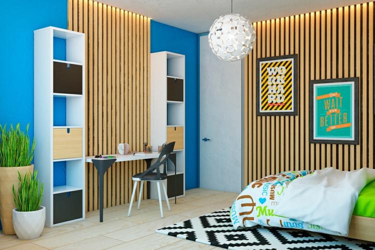 Lambris Mural Design Et Panneaux Dco En Lamelles De Bois