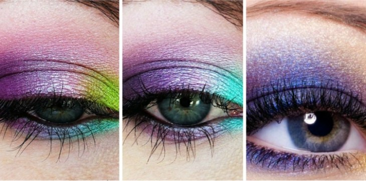 idees-maquillage-ete-couleurs-vives-pourpre-turquoise-vert