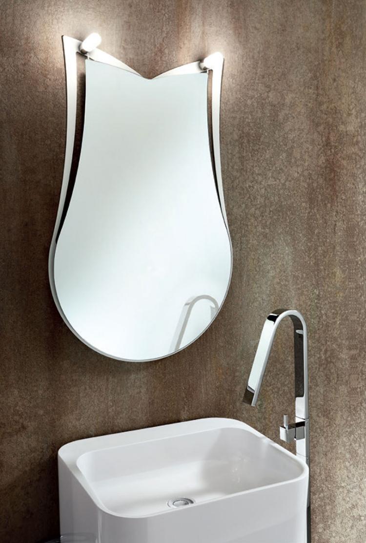miroir salle de bain lumineux en 55