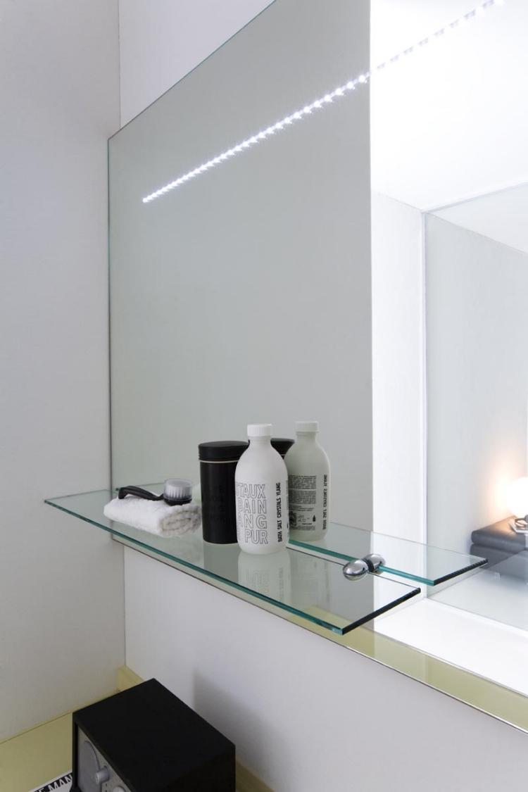 Leroy merlin miroir salle de bain clairant latest miroir - Specchio ikea krabb ...