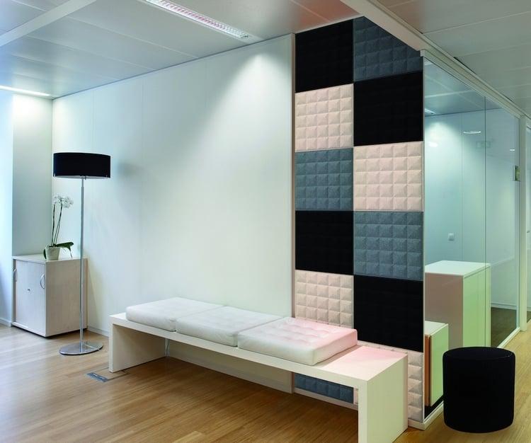Panneau Acoustique Dcoratif En 30 Designs Mur Et Plafond