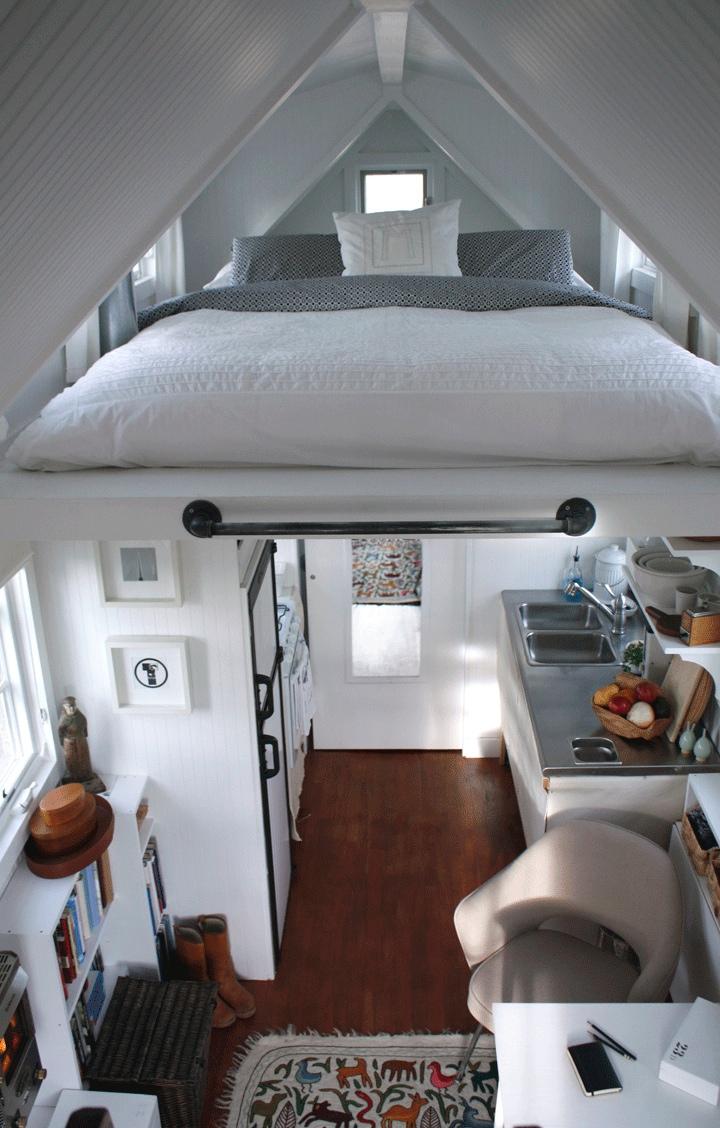 Petite chambre adulte 30 ides dco et meubles compacts