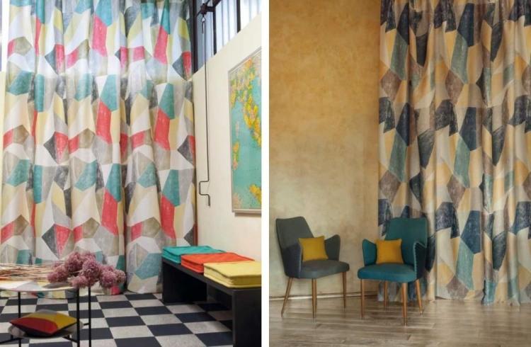 rideaux occultants design pour le salon