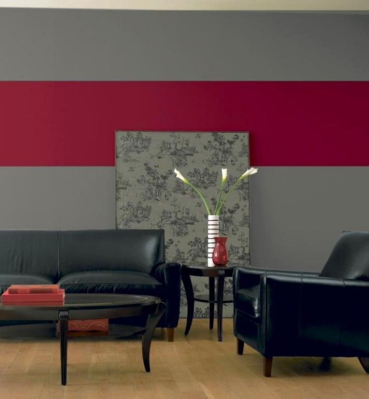 Peinture Salon Gris Et Bordeaux Lovehong Top