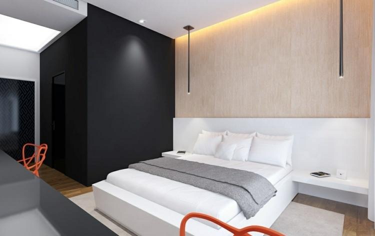 25 ides pour la chambre  coucher moderne de toute taille