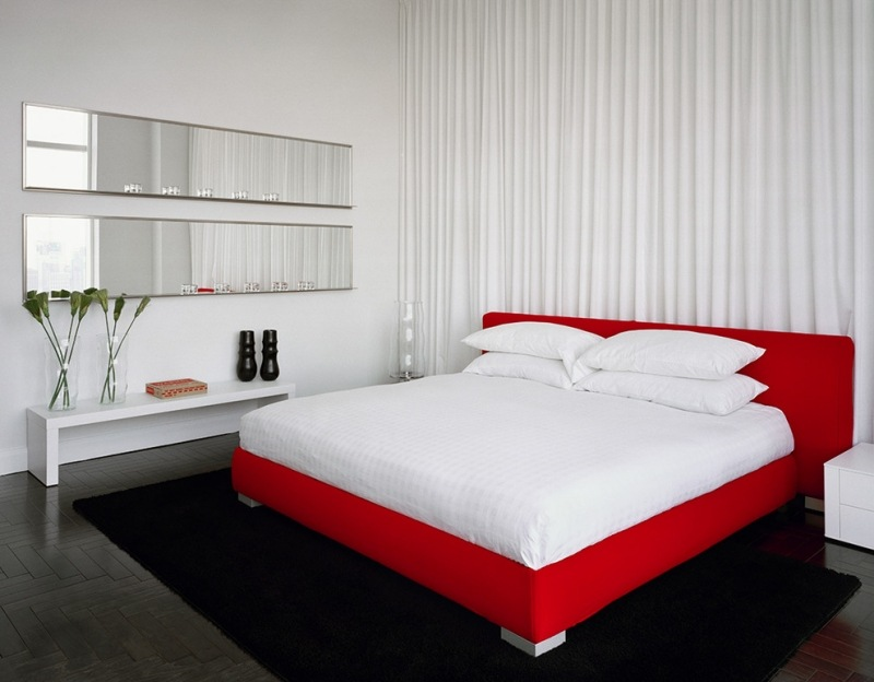 Chambre rouge inspirations en 25 photos splendides