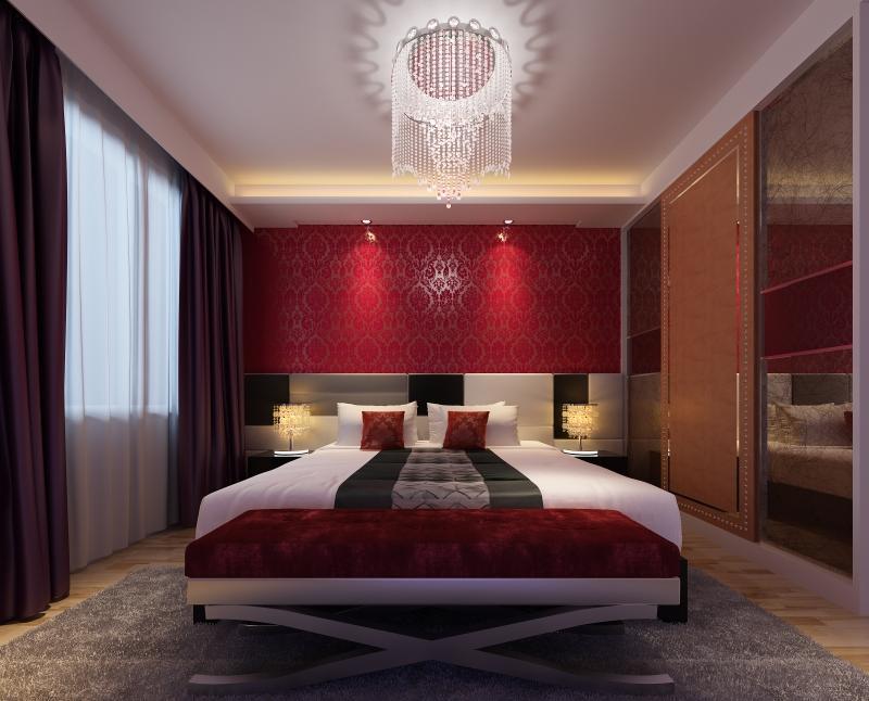 Chambre rouge inspirations en 25 photos splendides