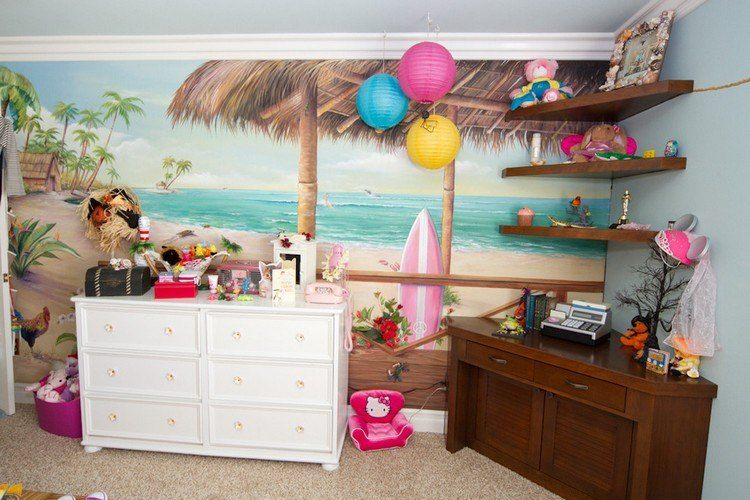 Dco Chambre Enfant Avec Planche De Surf 50 Inspirations