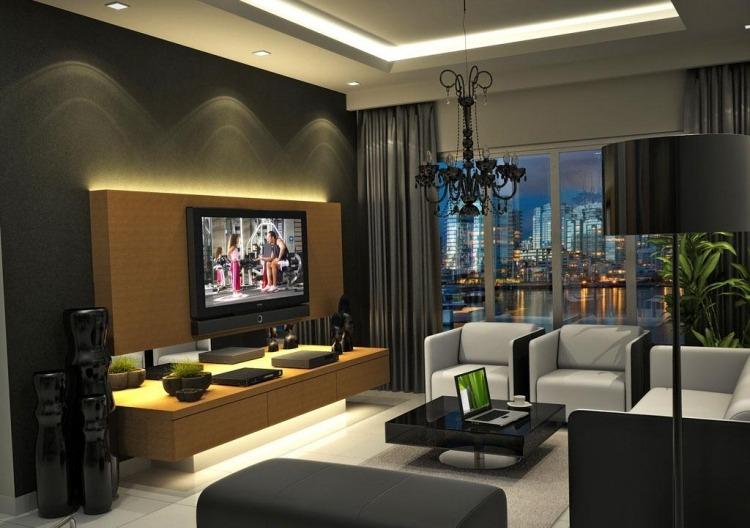sofa set bangalore red leather with nailhead trim ensemble mural tv à led pour le salon moderne– 50 idées