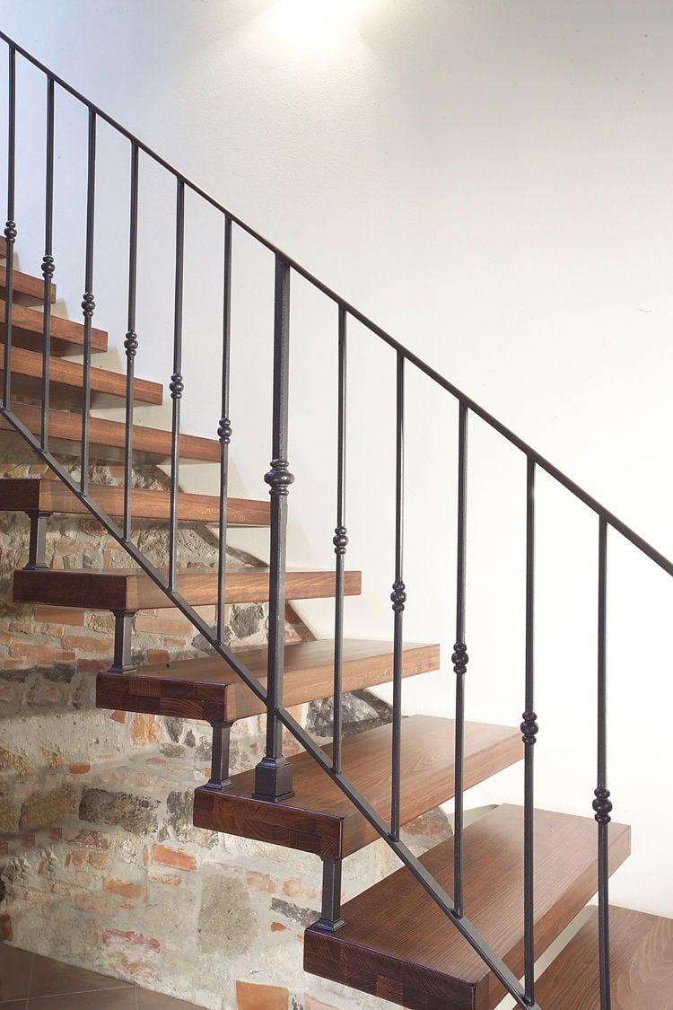 Escalier Bois Et Fer