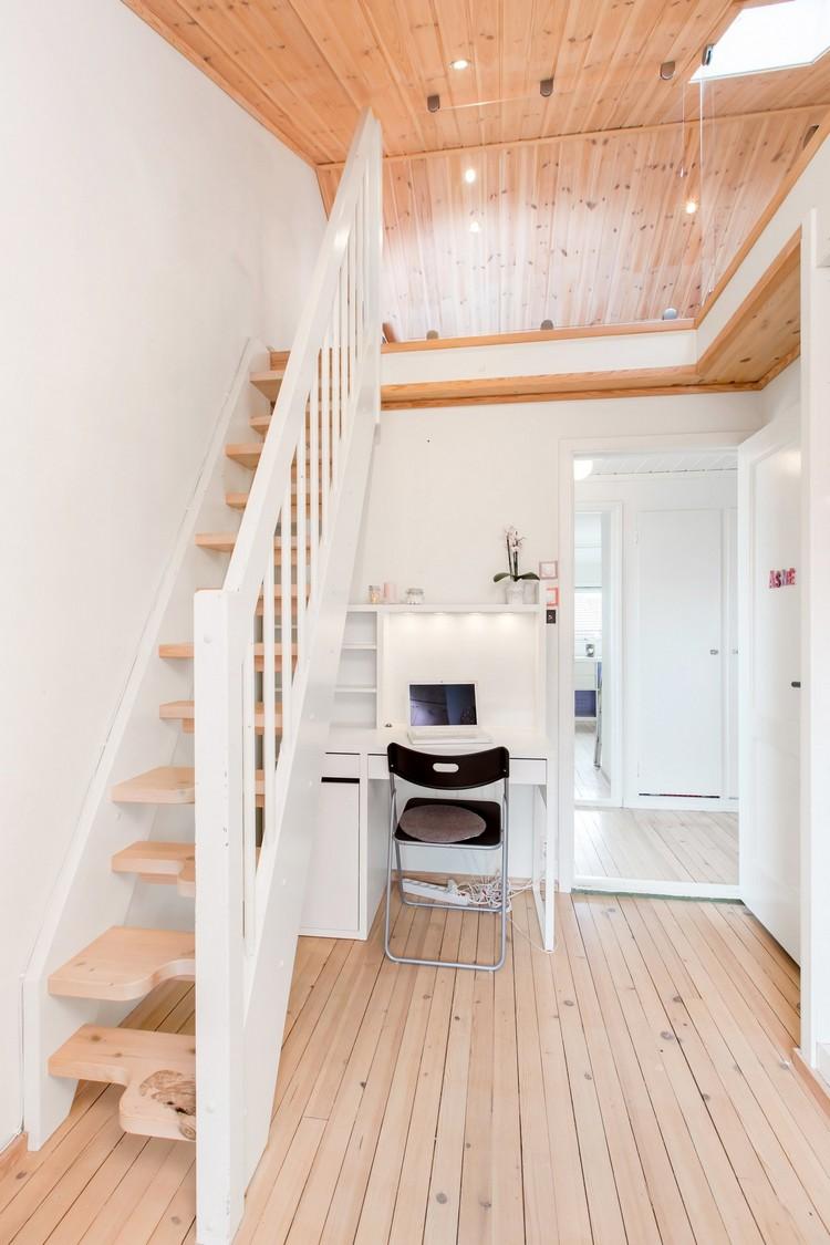 Escalier en bois moderne tous les modles en 55 photos