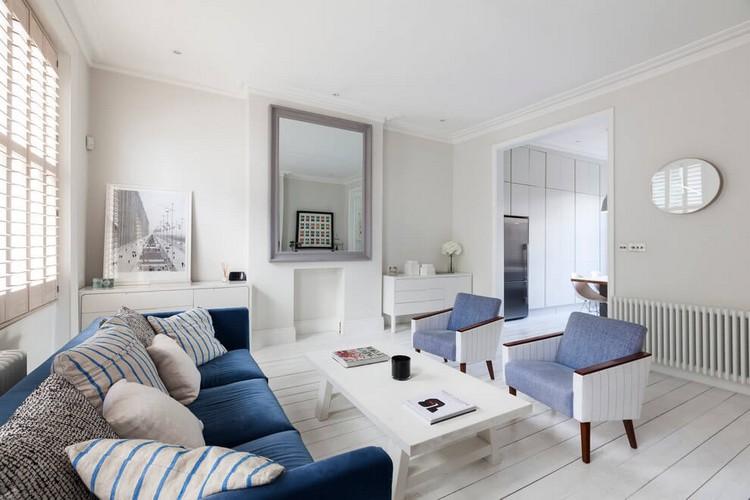 Meubles Maison En Bleu Et Blanc Ides Depuis Londres