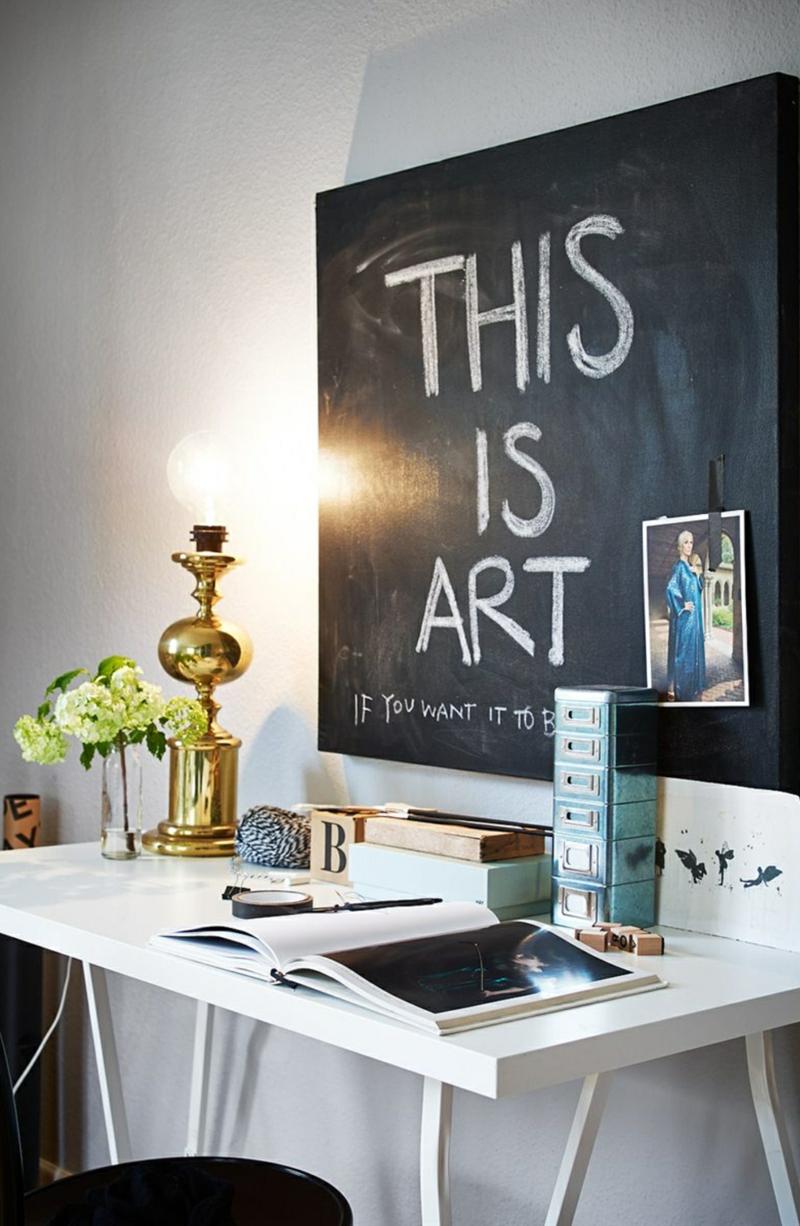 40 ides de peinture tableau noir comme accent de lintrieur
