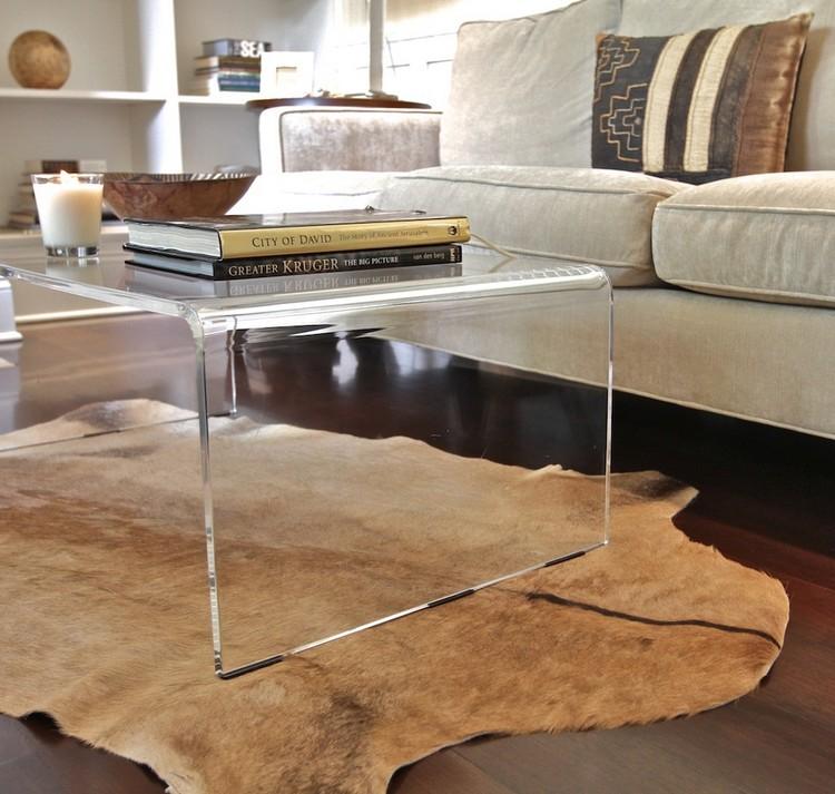 table basse acrylique 20 propositions